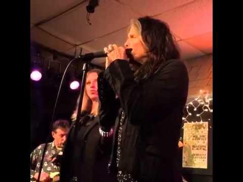 Steven Tyler with Bebe Buell & the Nashville Aces  Bluebird Cafe  Feb. 5, 2015