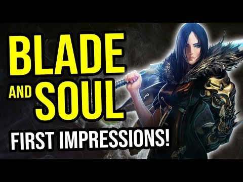 Blade & Soul – First Impressions – How Is This Free To Play MMORPG Looking In 2018?