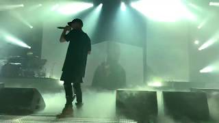 *MUST WATCH* NF BRINGS SHOVEL ON STAGE - INTRO III - Perception Tour
