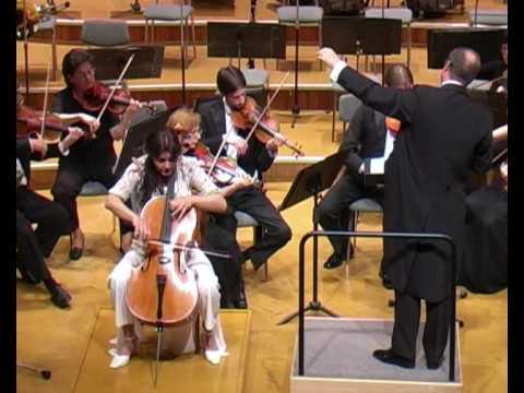 Haydn Cello Concerto in C major Part 1/ Michaela Fukačová
