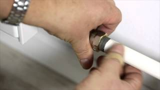 Installation guide -- Danfoss Thermostatic Radiator Valves: radiators with side connection