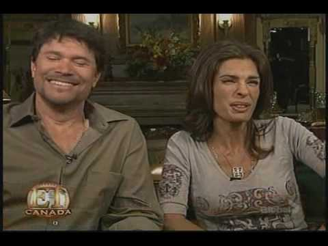 Peter Reckell & Kristian Alfonso on ET Canada