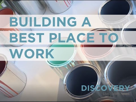 Building A Best Place to Work
