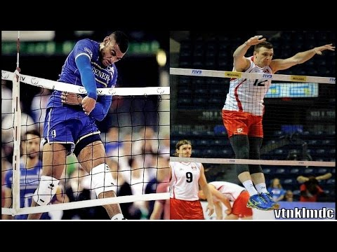 Volleyball Players Without Gravity - Crazy Jumps |HD|