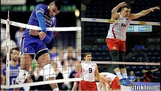 Volleyball Players Without Gravity - Crazy Jumps