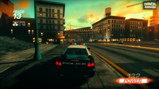 Ridge Racer Unbounded PC (2012) Polícia Gameplay  1080p