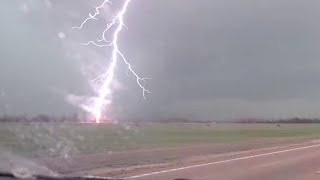 Repeat youtube video INSANE close-range lightning strike!!!