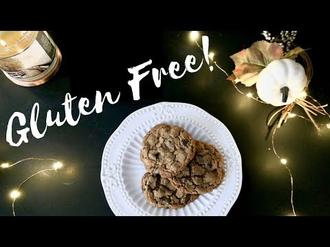 Gluten Free Peanut Butter Chocolate Chip Cookies