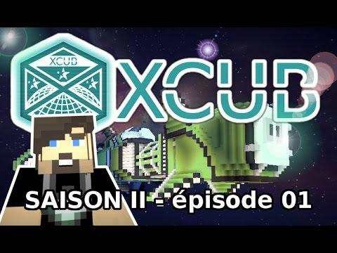 XCUB S02 #01 : Sauvetage du Brick - Minecraft, Fr, HD, GussDx