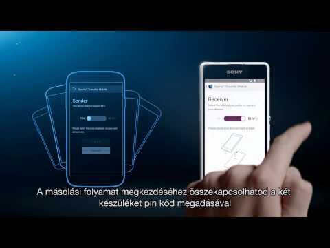 Xperia Transfer - így Költözhetsz új Xperia Készülékedbe Egyszerűen