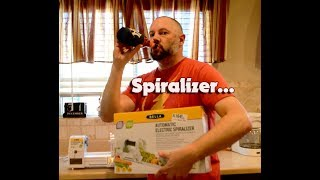Bella Electric Spiralizer - Curly Fries - Air Fryer - Review - Bloopers