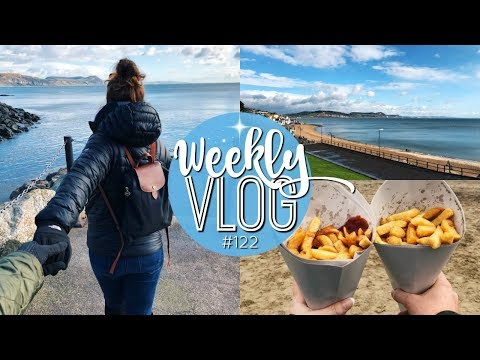WEEKLY VLOG #122 | LYME REGIS WEEKEND AWAY! 🌊 | Brogan Tate