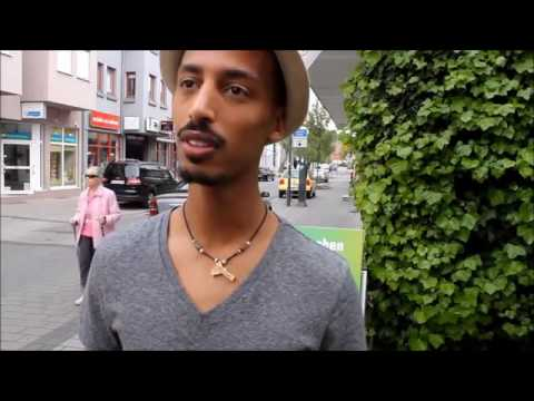 Eritrean funny interview 2016  auf deutsch ኣይርደኣንን,Ostern eier