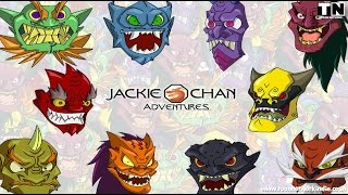 Jackie Chan Adventures Season S 4x00 The Oni Masks