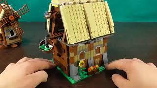 Lepin 16049 The Mill Village Raid Set Building Blocks