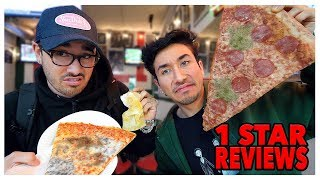 Eating At The WORST Reviewed Pizza Restaurant In My City (Los Angeles)