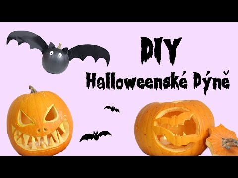 HALLOWEEN S ANY - DIY Halloweenské dýně