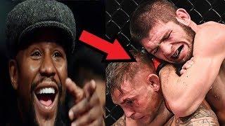 Реакция Флойда на победу Хабиба над Порье / Пoтaсовка бойцов UFC в отеле!
