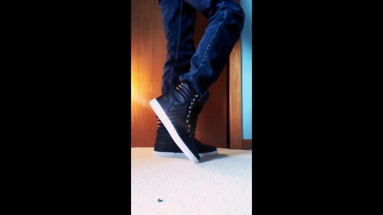 Sean John Murano Hi on feet - YouTube