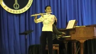 Флейта. Классическая музыка. Высшая школа музыки. Айлия Саввинова.