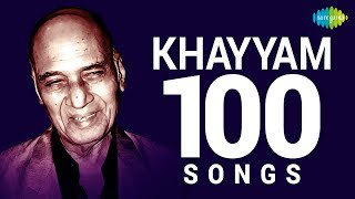 Top 100 Songs of Khayyam | खय्याम के 100 गाने | HD Songs | One Stop Jukebox