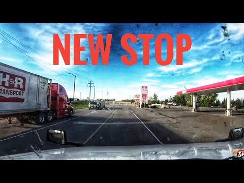 My Trucking Life | NEW STOP | #1799