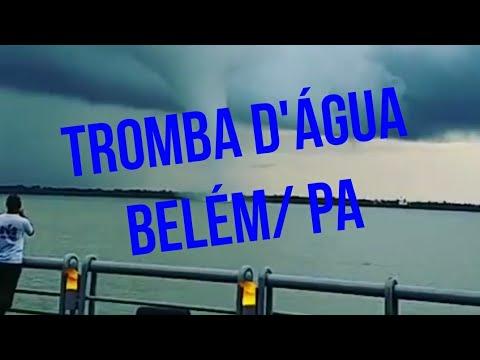 Tromba d'água em Belém do Pará hoje - 26/10/2017