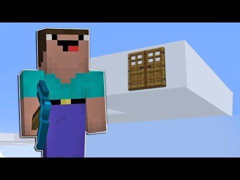 NOOB MİNECRAFT VS GÖKYÜZÜNDE BULUT EV TROLL! - Minecraft