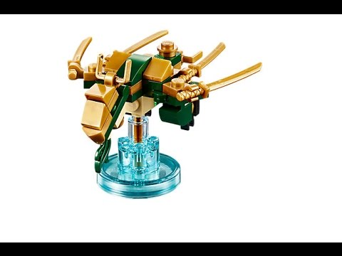 Lloyds Golden Dragon How To Build Lego Dimensions 71239 Youtube