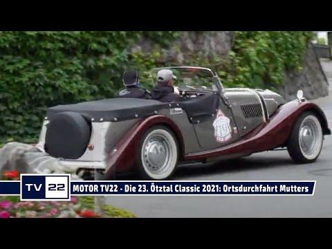 MOTOR TV22: Die 23. Ötztal Classic 2021 - die Ortsdurchfahrt durch Mutter südlich von Innsbruck
