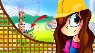 MONTANHA-RUSSA PERIGOSA (Rollercoaster Creator)