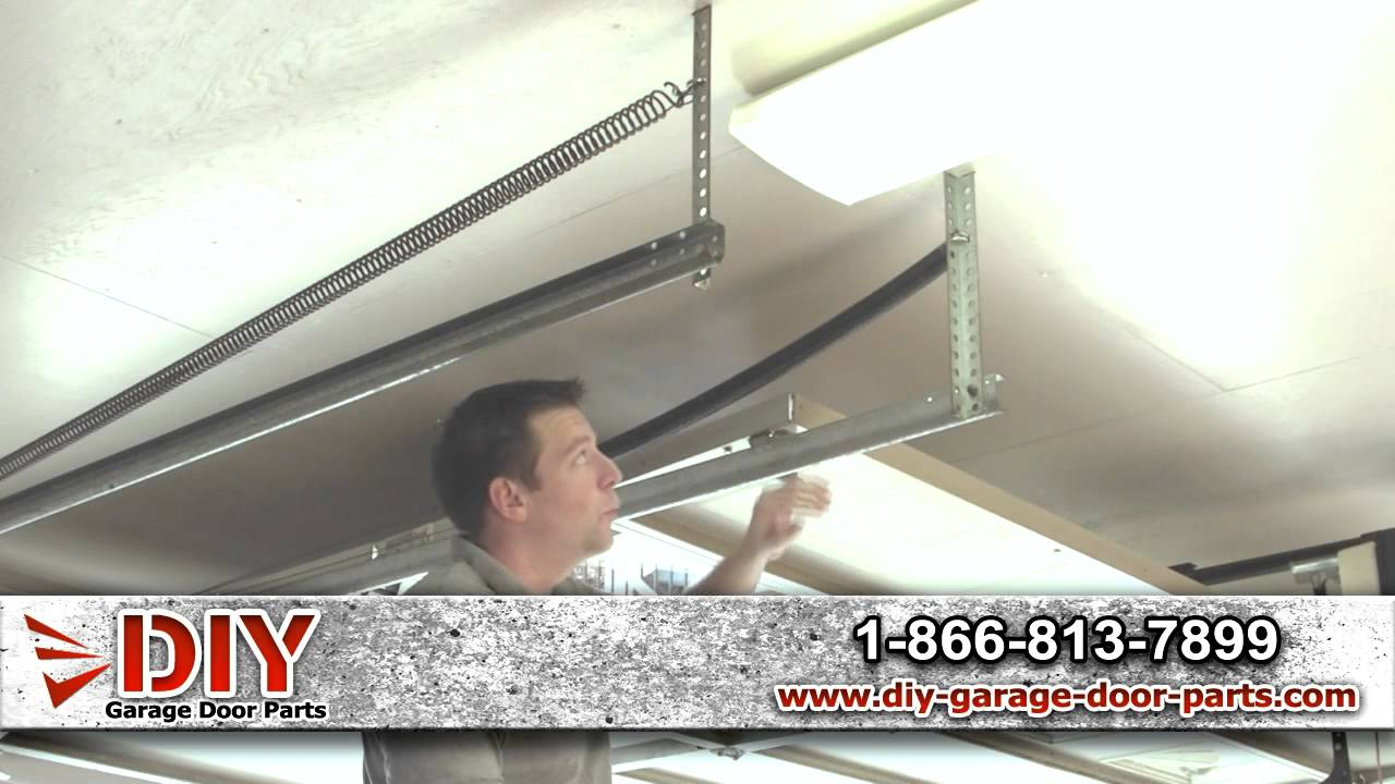 How To Measure Garage Door Extension Springs Youtube