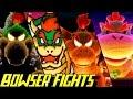 Evolution of Bowser Battles in Yoshi Games 1993-2017