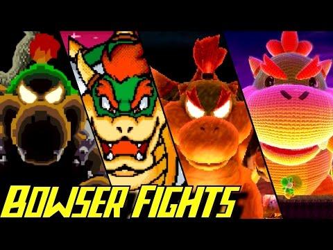 Evolution of Bowser Battles in Yoshi Games (1993-2017)