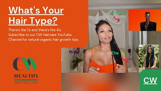 4c or 2b?   WHAT'S YOUR HAIR TYPE ?  HAIR TYPES   Taking care of 'YOUR' hair correctly?