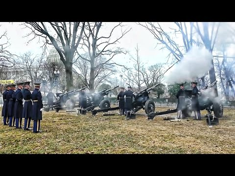 Presidential Salute Battery 2017 Inauguration 21 Gun Salute