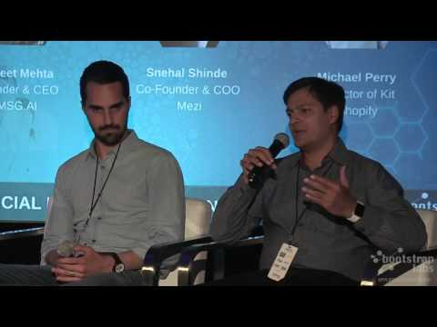 Panel - Conversational Commerce at AAI16 by BootstrapLabs