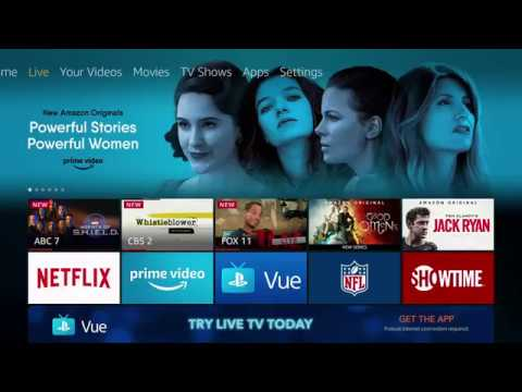 Introducing the new Live tab on Fire TV - Amazon Fire TV