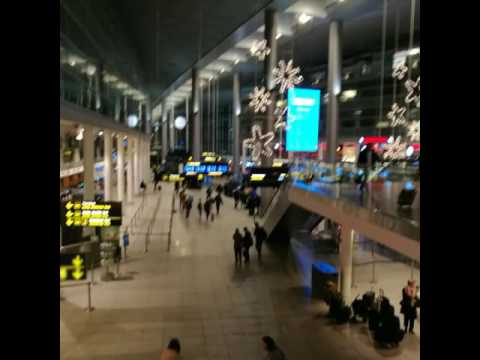 Copenhagen Airport (CPH) to Brussels Charleroi Airport (CRL) by Ryanair. January 2017