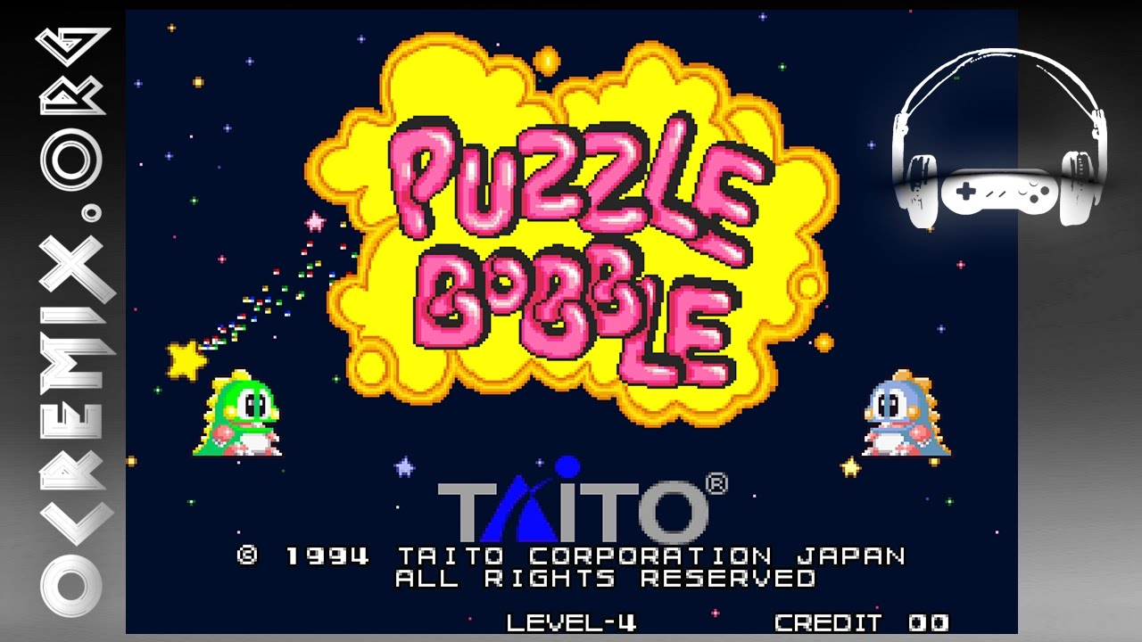 OC ReMix #1128: Puzzle Bobble 'Silver Dragon's Bubbles' [Journey to PaoPao  Island!] by COUCOU