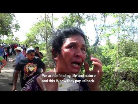 """La Puya"" activists rise up to oppose Guatemala gold mine"