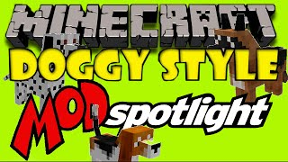 Doggy Style Mod - Minecraft Spotlight & How to Install @AdventurePros Gaming