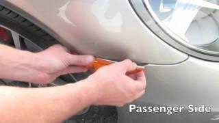 Suncoast Porsche Parts - 2012 Porsche Clear Side Marker Installation