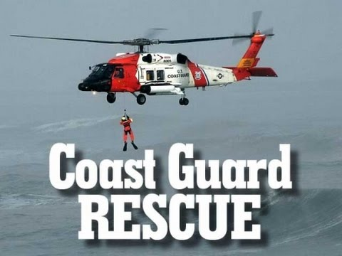Coast Guard Aircrew Medevacs Fisherman Near Oregon California Border