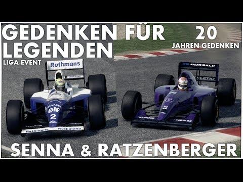GEDENKEN AN AYRTON SENNA & ROLAND RATZENBERGER   F1 2013/Classic Mode/San Marino[German HD+ PC]