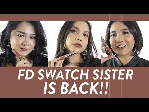 |Urban Decay Vice Liquid Lipstick | FD Swatch Sister