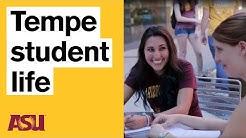 Life at the Tempe campus (Arizona State University - ASU)