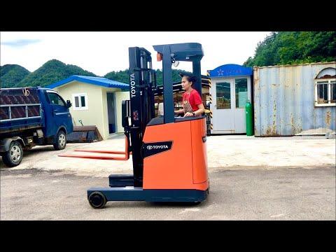 Napa prai Ep.224 นภาฝึกขับรถยกของ ผู้หญิงขับรถโฟล์คลิฟท์