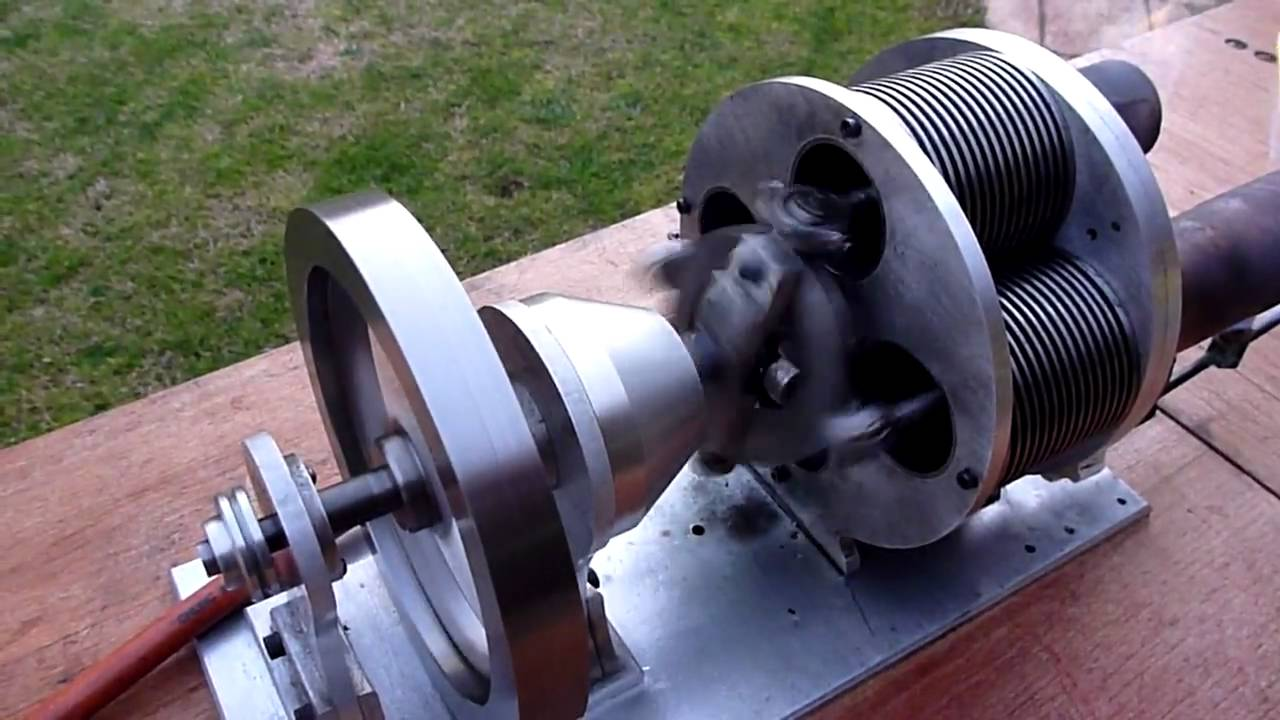Stirling Cycle Engine Larger