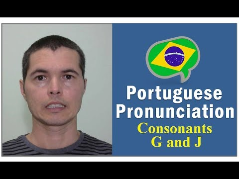 How to Pronounce The Letters G and J in Brazilian Portuguese  #TeacherRicardoFilgueira